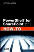 PowerShell for SharePoint 2013 How-To Deal