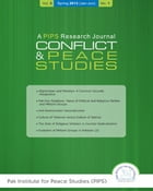 Conflict and Peace Studies A PIPS Research Journal (Jan-Jun 2013) by Pak Institute f0r Peace Studies (PIPS)