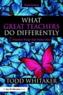 What Great Teachers Do Differently Cover Image