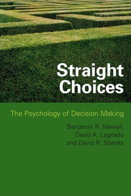 Book Straight Choices by Newell, Benjamin R.