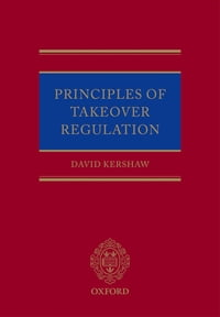 Principles of Takeover Regulation
