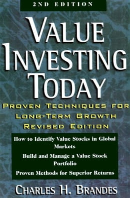 Book Value Investing Today by Brandes, Charles