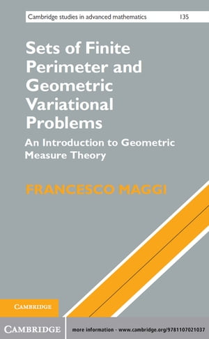 Sets of Finite Perimeter and Geometric Variational Problems An Introduction to Geometric Measure Theory