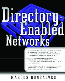 Book Directory-Enabled Networks by Goncalves, Marcus