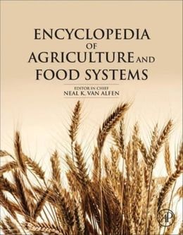 Book Encyclopedia of Agriculture and Food Systems by Alfen, Neal K. Van