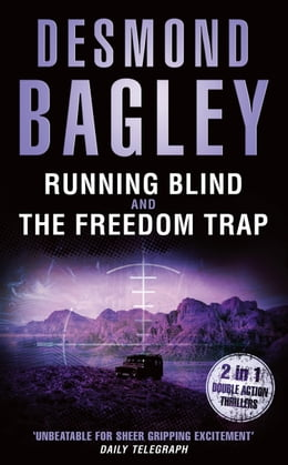 Book Running Blind / The Freedom Trap by Desmond Bagley