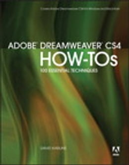 Book Adobe Dreamweaver CS4 How-Tos: 100 Essential Techniques by David Karlins