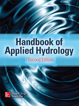 Book Handbook of Applied Hydrology, Second Edition by Vijay P. Singh