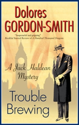 Book Trouble Brewing by Dolores Gordon-Smith