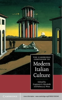 The Cambridge Companion to Modern Italian Culture