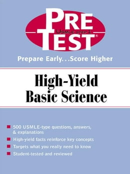 Book PreTest High-Yield Basic Science by McGraw-Hill Education