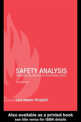 Book Safety Analysis: Principles and Practice in Occupational Safety by Harms-Ringdahl, Lars