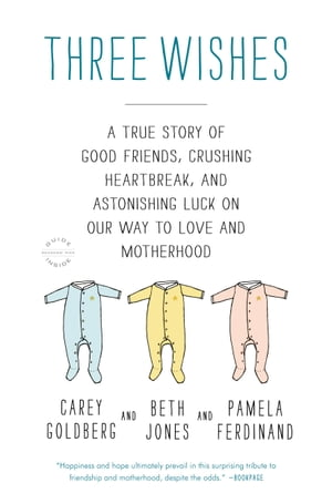 Three Wishes: A True Story of Good Friends, Crushing Heartbreak, and Astonishing Luck on Our Way to Love and Motherhood