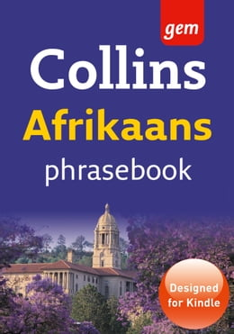 Book Collins Gem Afrikaans Phrasebook and Dictionary (Collins Gem) by Collins Dictionaries