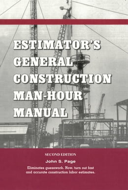 Book Estimator's General Construction Manhour Manual by Page, John S.