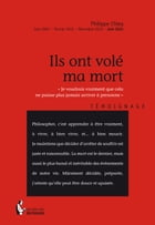 Ils ont volé ma mort by Philippe Chleq