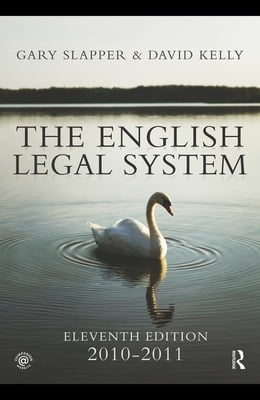 Book The English Legal System: 2010-2011 by Kelly, David