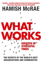 What Works: Success in Stressful Times by Hamish McRae