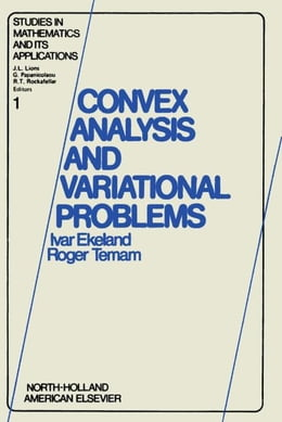 Book Convex analysis and variational problems by Ekeland, Ivar