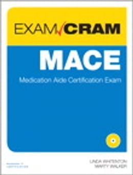 Book MACE Exam Cram: Medication Aide Certification Exam by Linda Whitenton