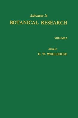 Book Advances in Botanical Research by Woolhouse, H.W.