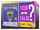 Gone Girl - True or False? & Trivia King!: Fun Facts and Trivia Tidbits Quiz Game Books by G Whiz