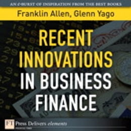 Book Recent Innovations in Business Finance by Franklin Allen