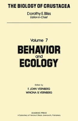 Book Behavior and Ecology by Vernberg, F. John