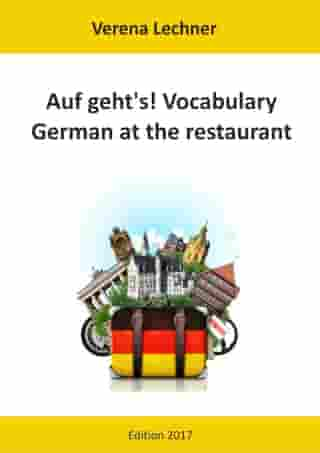 Auf geht's! Vocabulary: German at the restaurant