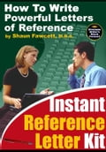 Instant Reference Letter Kit - How to Write Powerful Letters of Reference