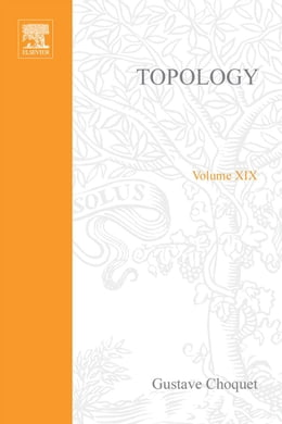 Book Topology by Choquet, Gustave