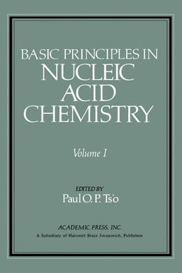 Book Basic Principles in Nucleic Acid Chemistry V1 by Ts'o, Paul O.P.