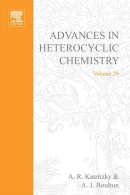 Book Advances in Heterocyclic Chemistry by Katritzky, A. R.