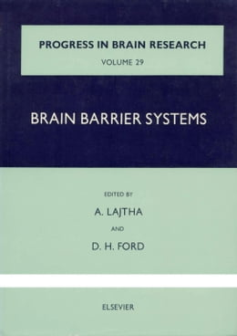 Book Brain Barrier Systems by LAJTHA, ABEL