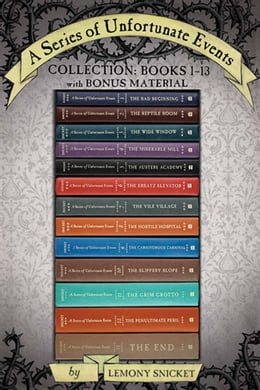 Book A Series of Unfortunate Events Collection: Books 1-13 with Bonus Material: The Bad Beginning, The… by Lemony Snicket