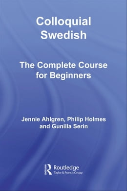 Book Colloquial Swedish by Ahlgren, Jennie