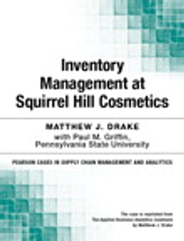 Book Inventory Management at Squirrel Hill Cosmetics by Matthew Drake