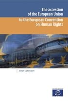 The accession of the European Union to the European Convention on Human Rights by Collectif