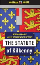 The Statute of Kilkenny by Anonymous