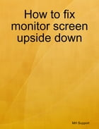 How to fix monitor screen upside down by Mike Huang