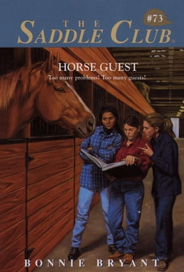 Book Horse Guest by Bonnie Bryant