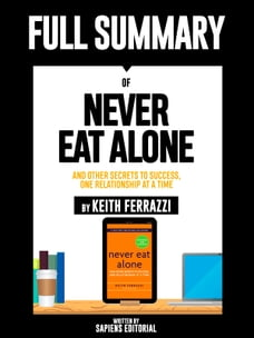 Amazon.com: Never Eat Alone, Expanded and Updated: And ...