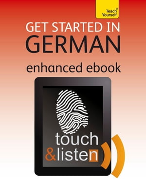 Get Started in Beginner's German: Teach Yourself Audio eBook