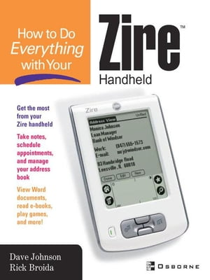 How to do Everything with Your Zire Handheld