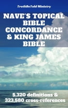 Nave's Topical Bible Concordance and King James Bible: 5,320 definitions and 323,580 cross-references by Joern Andre Halseth