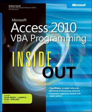 Microsoft Access 2010 VBA Programming Inside Out