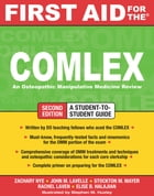 First Aid for the COMLEX, Second Edition by Elise B. Halajian