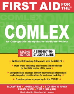 Book First Aid for the COMLEX, Second Edition by Zachary Nye