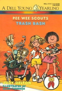 Book Pee Wee Scouts: Trash Bash by Judy Delton