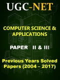UGC NET Computer Science Previous Years Solved Papers (2004-2017) (Computers Nonfiction) photo